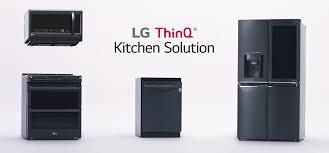tout pour la cuisine lg thinq kitchen connecte votre cuisine le réfrigérateur