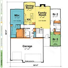 One Level Home Floor Plans One Story House U0026 Home Plans Design Basics