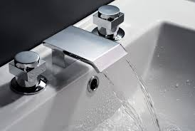stunning visual with waterfall bathroom sink faucet inspiration
