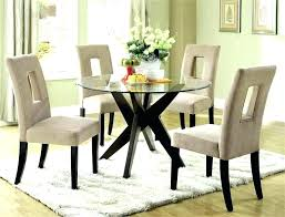 small glass kitchen table glass top dining table sets glass dining room table set luxury