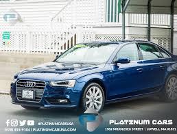 audi in massachusetts audi a4 2013 in lowell boston shore ma platinum cars