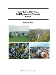 pennsylvania bmp manual bookmarked stormwater surface runoff