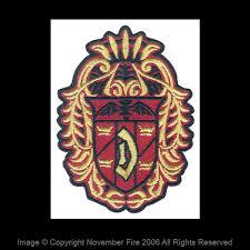 dracula s crest patch