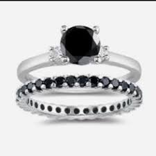 Black Diamond Wedding Ring by 13 Black Engagement Rings For Brides With A Dark Side Dark Side