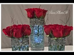 Dollar Store Cylinder Vases Diy Dollar Tree Wedding Centerpiece Vase For 2 00 Youtube