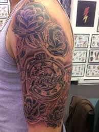 17 sports half sleeve tattoos