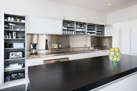 kitchen backsplash white cabinets stainless steel backsplash sheets white stove grey brick