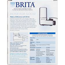 how do you change a kitchen faucet amazon com brita on tap faucet water filter system replacement