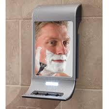 the best fog free mirror hammacher schlemmer