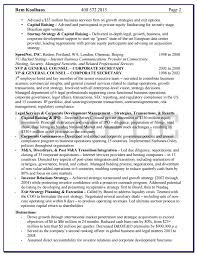 Sample In House Counsel Resume by Knock Em Dead Professional Resume Writing Services
