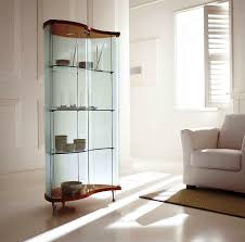 curved corner curio cabinet contemporary curved corner curio cabinet contemporary