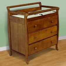 Pecan Changing Table On Me Liberty Collection 3 Drawer Changing Table In Pecan
