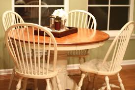 refinishing kitchen table after u2014 desjar interior refinishing