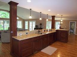 kitchen islands with columns best 25 kitchen columns ideas on columns inside
