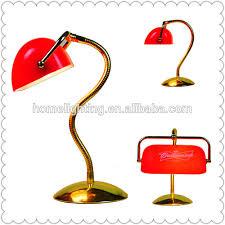 Red Desk Light M 10883 Tuning Light Adjustable Gold Table Lamp Red Bankers Desk