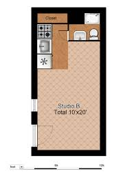 Studio Plan by Floor Plans Evergreen Terrace Apartmentsevergreen Terrace Apartments