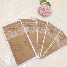kraft paper wedding invitations wedding invitation design paper lovely rustic wedding invitation