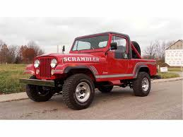 jeep fire truck for sale classic jeep cj8 scrambler for sale on classiccars com
