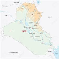 Iraq Province Map Iraqi Kurdistan Map Royalty Free Cliparts Vectors And Stock
