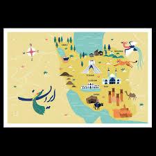 map iran iran map www lenaspath