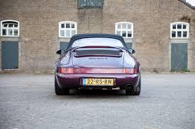 porsche 964 cabriolet l c c porsche 964 cabriolet tip tronic lieshout car collection