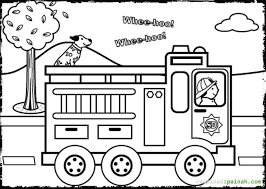 fire safety coloring pages coloring
