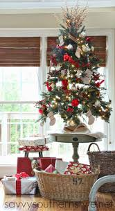 christmas tree small christmas trees decorated christmas raffia