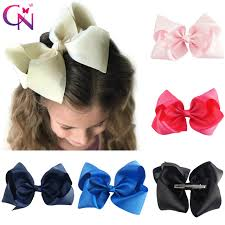 large hair bows 30 pcs lot 8 handmade solid large hair bow for kids