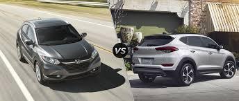 2016 Honda Hr V Ex L Vs 2016 Hyundai Tucson Limited