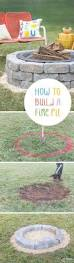 build a backyard fire pit the 25 best how to build a fire pit ideas on pinterest build a