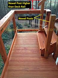 how to build code compliant deck railing