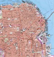 San Francisco On Map San Francisco Array Geos Data