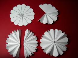 origami the craft patch accordion fold paper flowers fold cut
