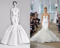Wedding Dress Trend 2018 Wedding Dresses Spring Summer 2018 Fashion Trends Cinefog