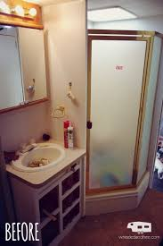 renovated bathroom ideas 45 rv bathroom remodeling ideas incompetence in rving rv escape