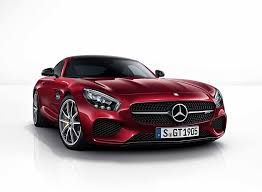 mercedes amg gt complete color palette front photo dark red