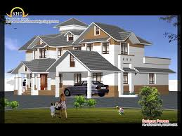 home design engineer house elevation and plan 2900 sq ft kerala home design and
