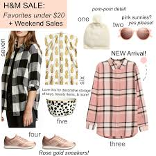 tracy s notebook of style h m sale faves under 20 weekend sales