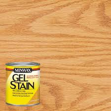 Home Depot Wood Stain Colors by Minwax 1 Qt Honey Maple Gel Stain 66040 The Home Depot