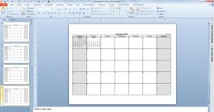 2013 monthly calendar template powerpoint calendars powerpoint