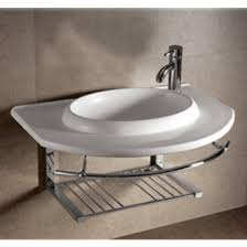 Pedestal Sink With Towel Bar Bathroom Sinks China Isabella Round Bowl Bath Sink With Wall