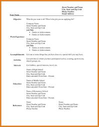 resume templates free printable 3 4 sle blank resume templates proposalbidsle