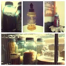 the diy life mason jar storage and organization seasonedwithsarcasm