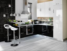 idee cuisine equipee cuisine equipee noir et blanc evtod newsindo co