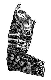 sleeve tattoo art drawings pictures to pin on pinterest tattooskid
