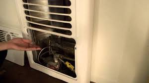how to light a gas furnace heater how to light a gas wall heater youtube