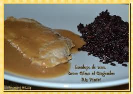 le gingembre en cuisine escalope de veau sauce citron et gingembre la cuisine de lilly