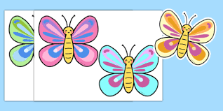 colourful butterfly cut out colourful butterfly cut out