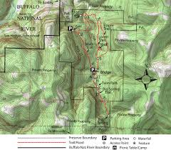 Buffalo Creek Trail Map Takahik River Valley Hikers