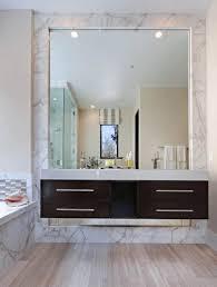 bathroom wood framed vanity mirrors with antique bathroom